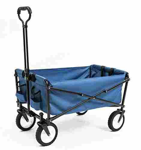 2. Seina Collapsible Folding Utility Wagon