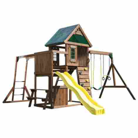 4. Chesapeake Wood Play Set