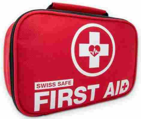 9. Swiss Safe First Aid Kit