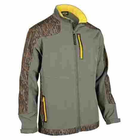 9. Yukon Gear Men's Windproof Softshell Fleece Jacket