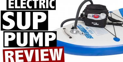 Our review of the best inflatable paddle board pump