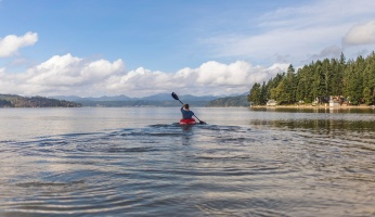 An in-depth review of the top qualities of a rafting kayak.