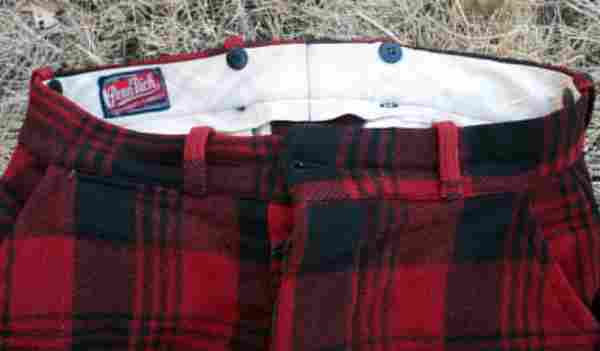 flannel huting clothes