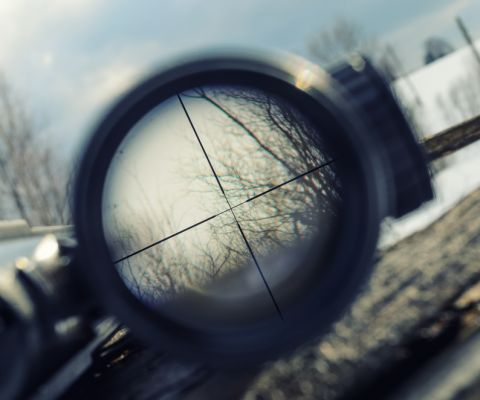 An in depth guide on how to sight in a rifle scope correctly