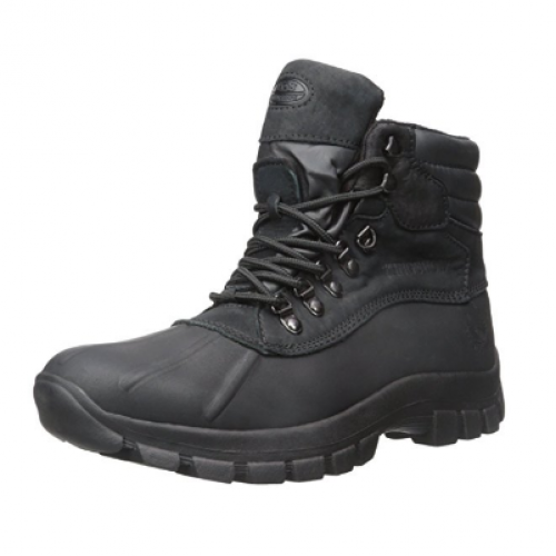 KingsShow Leather Snow Boots