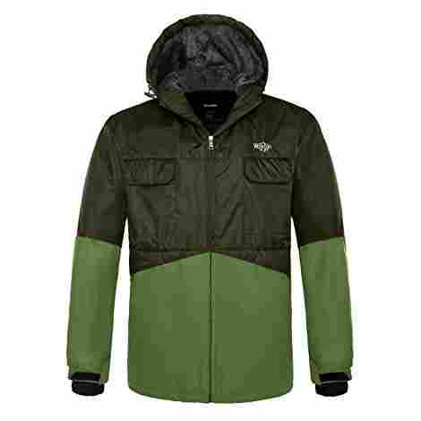 2. Wantdo Mountain Ski Jacket
